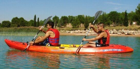 Alquiler de kayak doble en Teruel