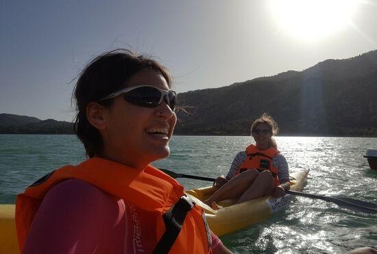 Navegando en Pantano de Pena