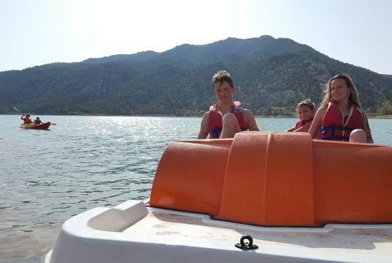 Actividades nauticas para jovenes en Beceite