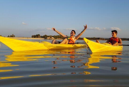 Deportes nauticos en la Estanca