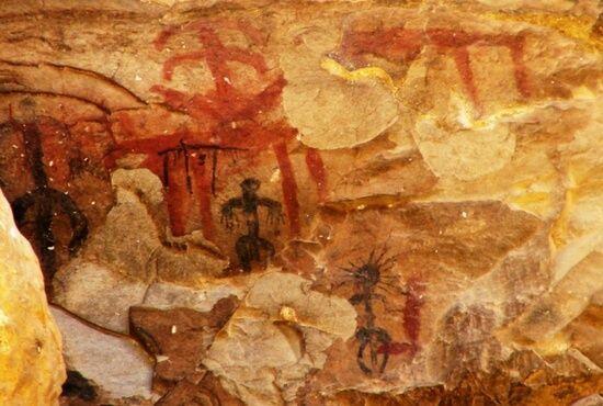 Pinturas rupestres Los Estrechos de Albalate del Arzobispo