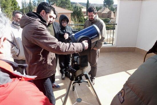 Curso de astronomia en Teruel
