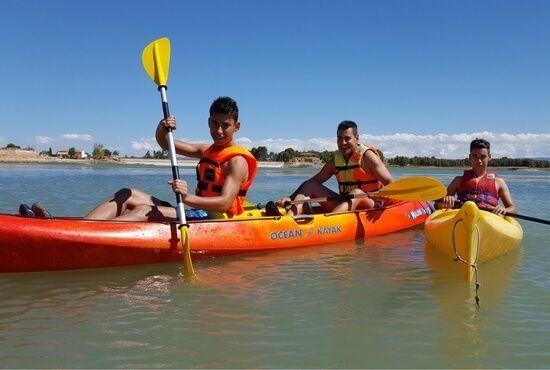 Alquiler de kayaks La Estanca