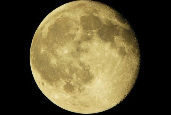 Observación de la luna en Teruel