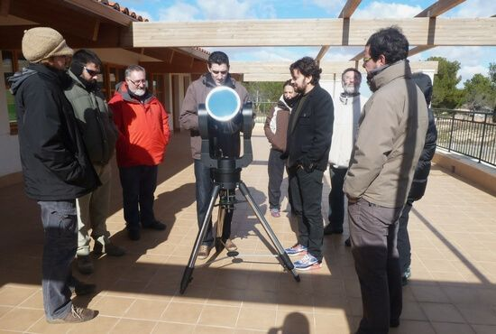 Curso Astronomia en el CEA ITACA de Andorra