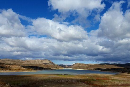 Vistas Pantano de Oliete y Alcaine