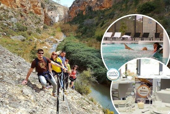 Senderismo Naturaleza y Balneario en Teruel