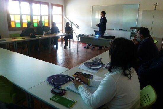 Curso Astronomia en el ITACA de Andorra