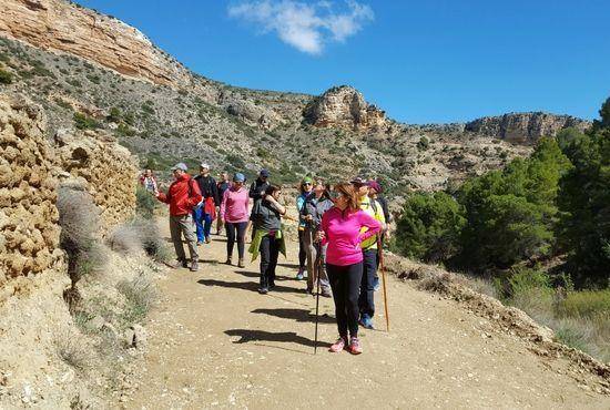 Caminando por la ruta de los estrechos de Albalate