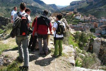 Vistas de Alcaine, ruta torreones