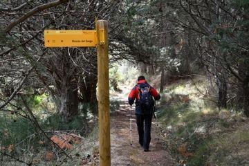 Ruta senderista en el Barranco de Valdoria
