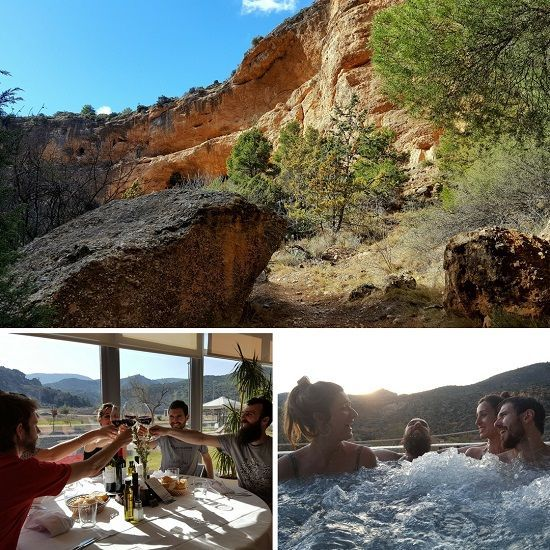 Naturaleza y relax en Albalate y Ariño