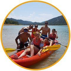 Alquila un kayak doble y donamos 1 euro