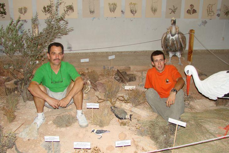 Montando exposiciones para difundir biodiversidad