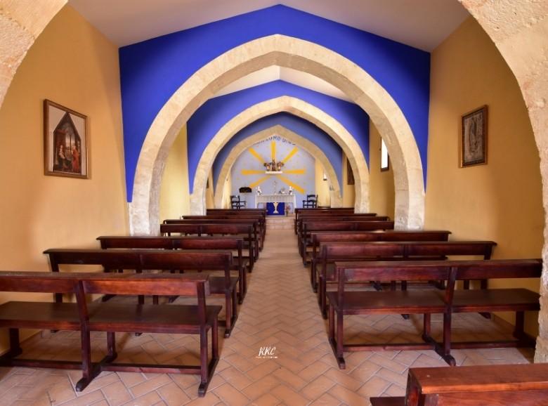Interior Ermita San Miguel de Alacón