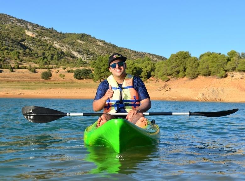 Kayaks en el Pantano de Pena Beceite